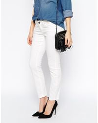 Esprit | White Skinny Ankle Grazer Jeans | Lyst