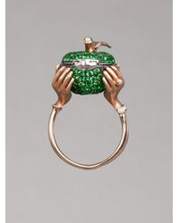 Stephen Webster Pink Small Poison Apple Ring