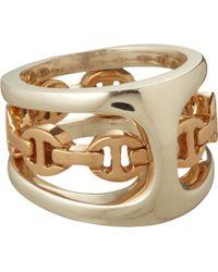 Hoorsenbuhs | Metallic Silver Rose Gold Phantom Ring | Lyst