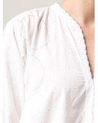 Dosa White Baluchistani Dress