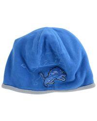 KTZ Blue Detroit Lions Tech Knit Hat for men