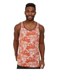 Rip Curl | White Larry Tank Top for Men | Lyst