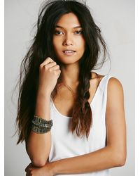 Free People - Multicolor Womens Metal Spine Cuff - Lyst