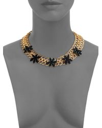 Marc By Marc Jacobs Metallic Palm Link Choker Necklace for men