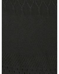 Izabel London Black Long Sleeve Plain Knitted