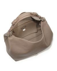 Mulberry - Gray Freya Leather Hobo Bag - Lyst