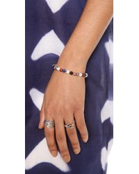Ginette NY - Multicolor Elastic Bracelet - Lyst