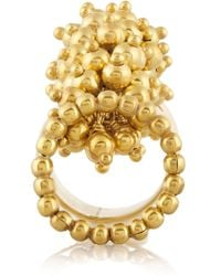 Paula Mendoza - Metallic Jarama Gold-Plated Ring - Lyst