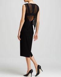 Elie Tahari Black Danni Dress