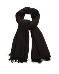Rick Owens | Black Large Blanket Scarf for Men | Lyst