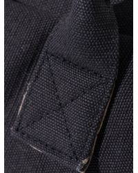 American Vintage Black Cotton-Canvas Weekend Bag for men