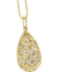 Carolina Bucci | Metallic Diamond, Opal & Yellow-gold Necklace | Lyst