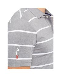 Ralph Lauren | Gray Tailored-fit Striped Polo for Men | Lyst