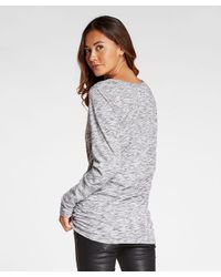 Threads For Thought - Gray Darcie Tunic - Lyst