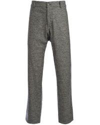 L'éclaireur | Gray Melange Knit Trouser for Men | Lyst