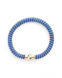 Nu Brand | Beaded Bracelet - Cobalt Blue | Lyst