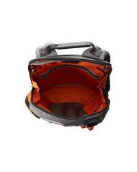 Tumi Orange Alpha Bravo Knox Backpack