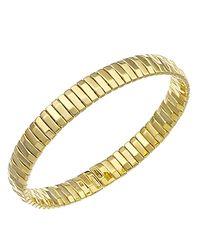 Chimento | Metallic 18k Yellow Gold Armillas Collection Ridge Line Bracelet | Lyst