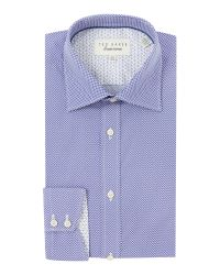 Ted Baker | Purple Croxton Slim Fit Formal Shirt for Men | Lyst