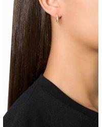 Ileana Makri Yellow 'bull' Diamond Hoop Earrings