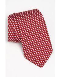 Vineyard Vines | Red 'stars' Silk Tie for Men | Lyst