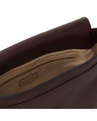Whistles Purple Barnsbury 5 Pocket Bag