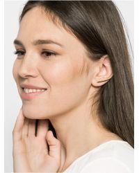 BaubleBar Metallic Fang Ear Crawlers
