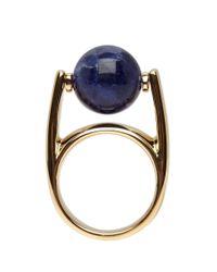 Chloé - Blue Stone Abby Ring - Lyst