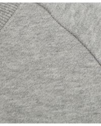 Zoe Karssen - Gray Grey Caviar Bat Sweatshirt - Lyst