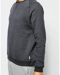 Ted Baker - Gray Long Sleeve Regular Fit Lounge Sweat Top for Men - Lyst