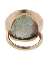 Irene Neuwirth - Metallic Rose Cut Labradorite Ring - Lyst
