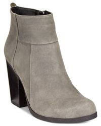 Kenneth Cole Reaction | Gray Might Be Cuffed Booties | Lyst