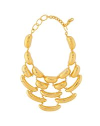 Robert Lee Morris | Metallic Bean Necklace | Lyst