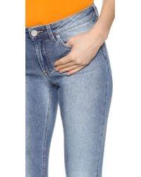 Acne Studios Skin 5 Jeans - Light Used Blue
