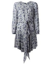 Étoile Isabel Marant White Floral Dress