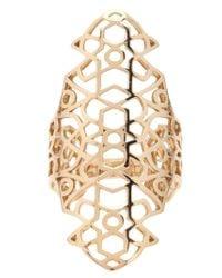 Repossi | Metallic Cut-out Ring | Lyst