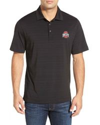 Cutter & Buck | Black 'ohio State University Buckeyes - Highland Park' Drytec Stretch Polo for Men | Lyst