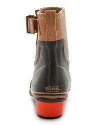 Sorel - Slimpack Riding Glow Booties - Black Bronco - Lyst