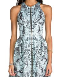 Nicholas - Multicolor Zip Front Dress - Lyst