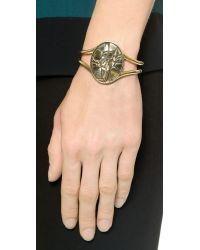 Pamela Love Metallic Ceres Cuff Bracelet - Brass