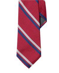 Lauren by Ralph Lauren | Red Regency Striped Silk Tie for Men | Lyst