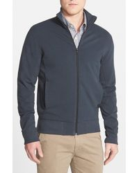 Victorinox | Blue 'Torrent' Full Zip Track Jacket for Men | Lyst