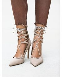 Free People | Natural Hierro Heel | Lyst