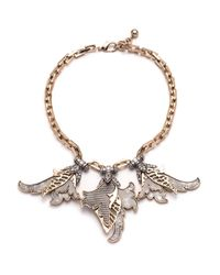 Lulu Frost | Metallic Nightshade Necklace | Lyst