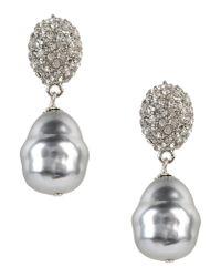 Kenneth Jay Lane | Metallic Earrings | Lyst