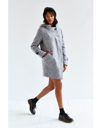Numph | Gray Morgan Grey Wool Coat | Lyst