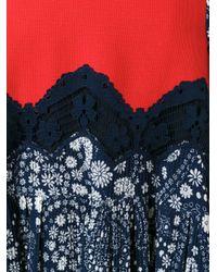 Chloé - Multicolor Floral Print Dress - Lyst