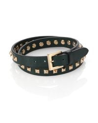 Valentino | Green Studded Wrap Bracelet for Men | Lyst