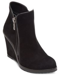 Vince Camuto | Black Jeffers Booties | Lyst
