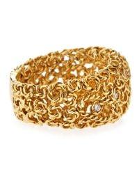 Roberto Coin | Metallic 18 Karat Gold Mauresque Diamond Ring Size 6 12 for Men | Lyst